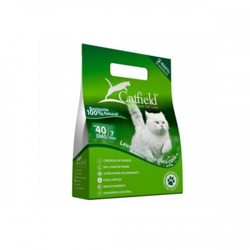 CATFIELD NATURAL - PREMIUM CAT LITTER