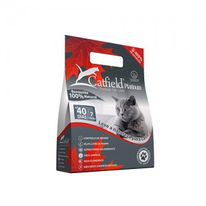 CATFIELD PLATINIUM - PREMIUM CAT LITTER