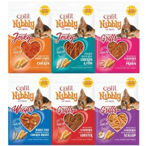 CATIT NIBBLY MULTIPACK 6