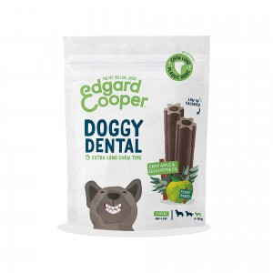 EDGARD & COOPER DOGGY DENTAL - MAÇÃ CROCANTE & EUCALYPTUS