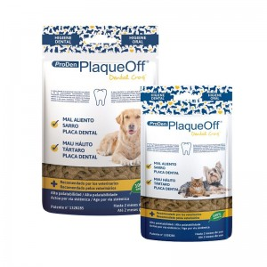 PLAQUEOFF DENTAL CROQ CAES & GATOS - PRODEN