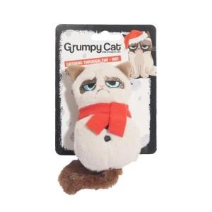 GRUMPY CAT PLUS SNOWMAN