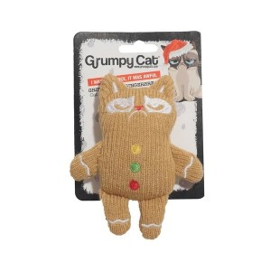 GRUMPY CAT KNIT GINGERBREAD