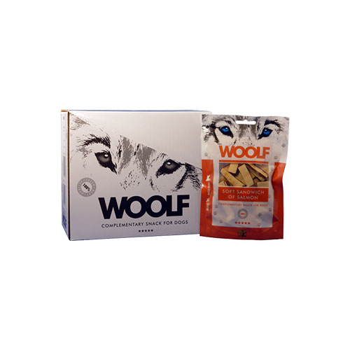 WOOLF SOFT SANDWICH OF SALMON - SNACK