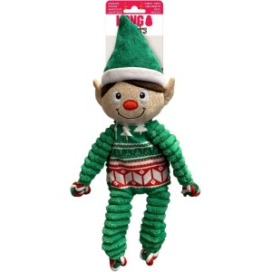KONG HOLIDAY FLOPPY KNOTS ELF