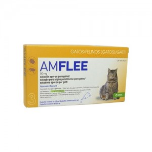 AMFLEE SPOT ON GATOS - 50MG