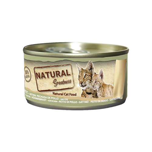 NATURAL GREATNESS CAT CHICKEN BREAST - CAT & KITTEN