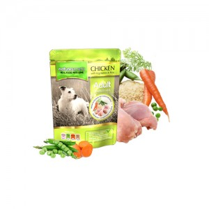 NATURES MENU DOG POUCH ADULT - CHICKEN