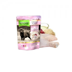 NATURES MENU DOG POUCH JUNIOR - CHICKEN & LAMB
