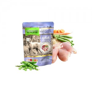 NATURES MENU DOG POUCH ADULT - CHICKEN & DUCK