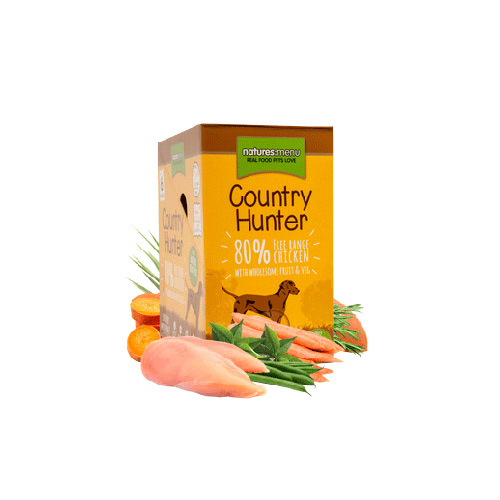 NATURES MENU DOG COUNTRY HUNTER DOG POUCH - CHICKEN
