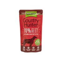 NATURES MENU DOG COUNTRY HUNTER  POUCH BEEF