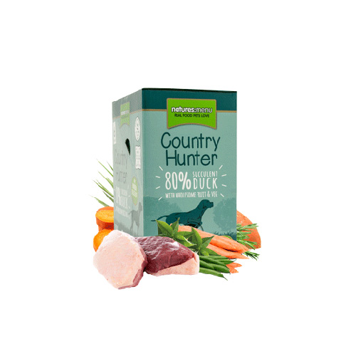 NATURES MENU DOG COUNTRY HUNTER  POUCH DUCK