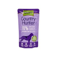 NATURES MENU DOG COUNTRY HUNTER  POUCH TURKEY