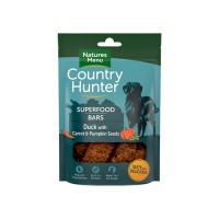 NATURES MENU COUNTRY HUNTER DOG SUPERFOOD BARS DUCK & PUMPKIN