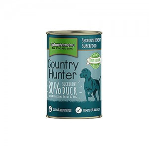 NATURES MENU DOG COUNTRY HUNTER CANS SUCCULENT DUCK