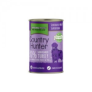 NATURES MENU DOG COUNTRY HUNTER CANS TURKEY