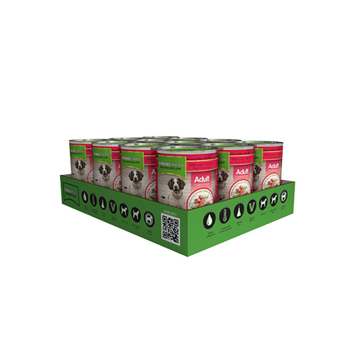 NATURES MENU DOG CANS ADULT - BEEF & CHICKEN