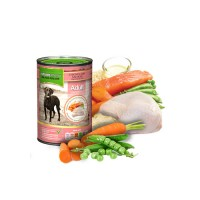NATURES MENU DOG CANS ADULT - CHICKEN & SALMON