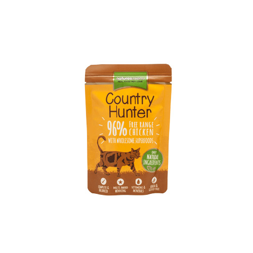 NATURES MENU CAT COUNTRY HUNTER FREE RANGE CHICKEN