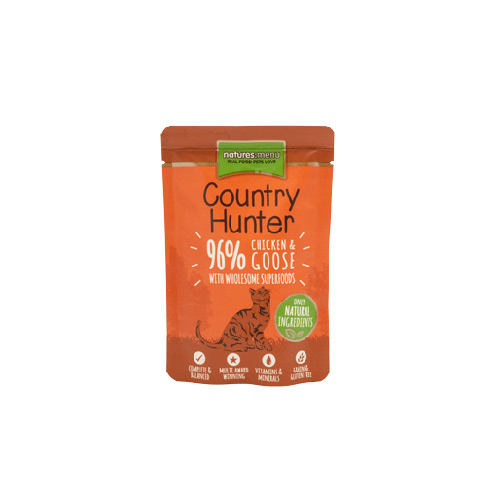 NATURES MENU CAT COUNTRY HUNTER CHICKEN & GOOSE