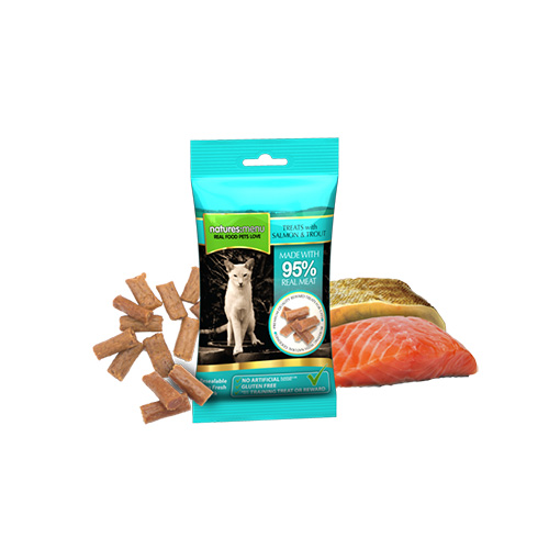 NATURES MENU CAT TREATS - SALMON & TROUT