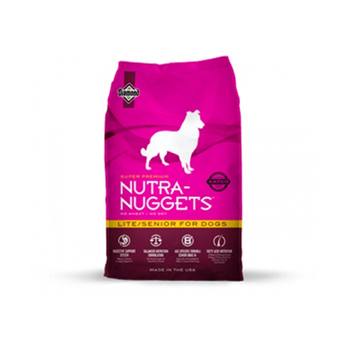 NUTRA-NUGGETS GLOBAL LITE / SENIOR - CÃO