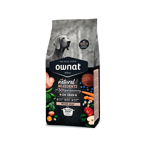 OWNAT ULTRA CÃO MEDIUM ADULTO - FRANGO