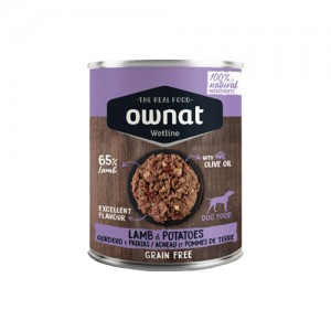 OWNAT WETLINE DOG  - LAMB & POTATOES