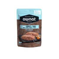 OWNAT WETLINE STERLIZED CAT - TURKEY AND TUNA