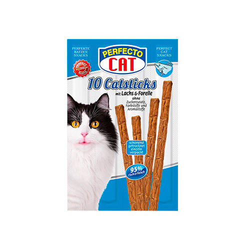 PERFECTO CAT CATSTICKS - SALMÃO & TRUTA