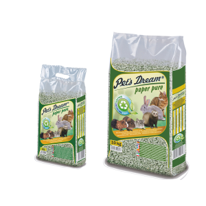 PET´S DREAM LITTER DE PAPEL RECICLADO SUPER ABSORVENTE