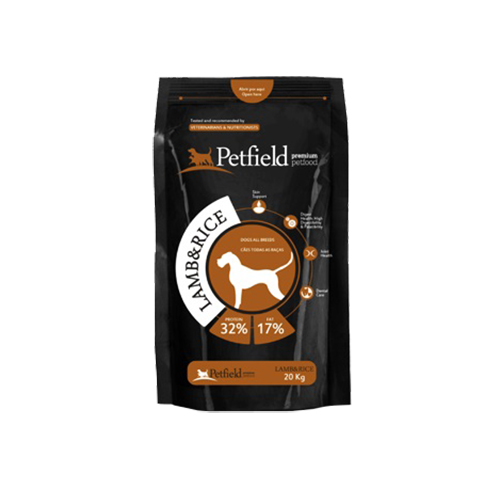 PETFIELD DOG LAMB & RICE