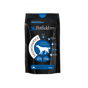 PETFIELD DOG SALMON & RICE