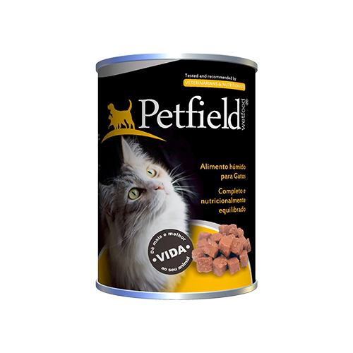 PETFIELD CAT WETFOOD TUNA & SALMON - PREMIUM CATFOOD