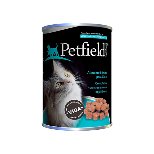 PETFIELD CAT WETFOOD BEEF - PREMIUM CATFOOD