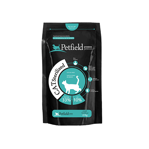 PETFIELD CAT STERILISED - PREMIUM CATFOOD
