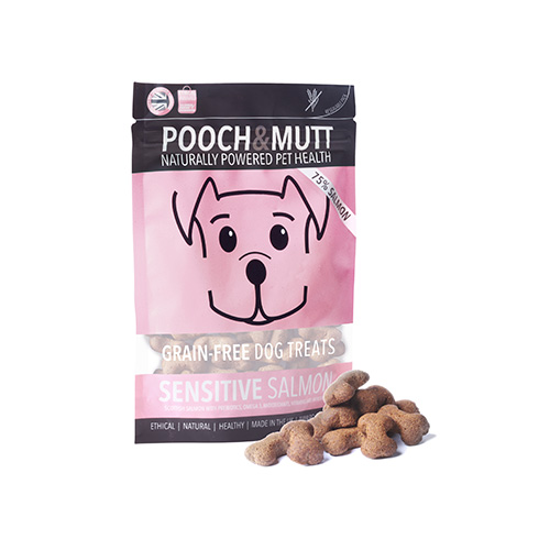 POOCH & MUTT SNACKS - SENSITIVE SALMON