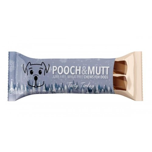 POOCH & MUTT DENTAL XMAS SNACK BARS - TASTY TURKEY