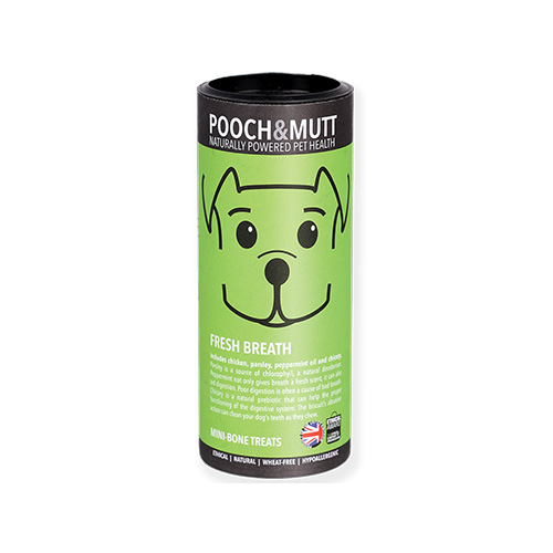 POOCH & MUTT TUBO SNACK | FRESH BREATH