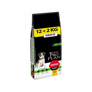 PRO PLAN PUPPY MEDIUM OPTISTART 12 + 2KG