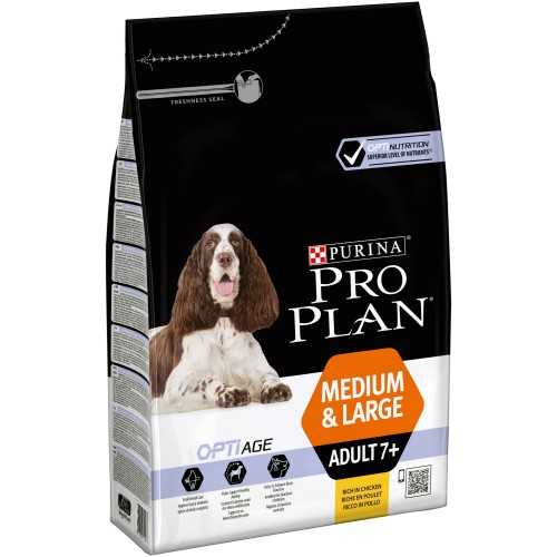 PRO PLAN ADULT 7+ MEDIUM & LARGE OPTIAGE - PURINA