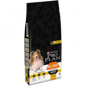 PRO PLAN ADULT ALL SIZE LIGTH / STERILIZED OPTIWEIGHT - PURINA
