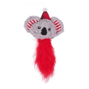 ROSEWOOD CHRISTMAS KOALA CAT TOY CUPID & COMET