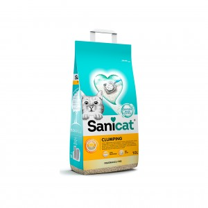 SANICAT CLUMPING FRAGRANCE FREE