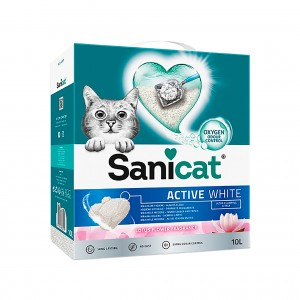 SANICAT ACTIVE WHITE LOTUS FLOWER - AREIA ULTRA AGLOMERANTE