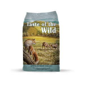 TASTE OF THE WILD SMALL BREED APPALACHIAN VALLEY - CÃES