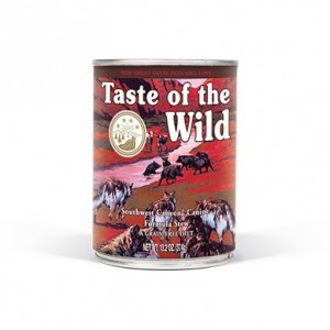 TASTE OF THE WILD DOG SOUTHWEST CANYON JAVALI IN GRAVY