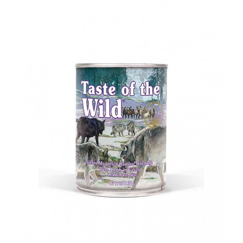 TASTE OF THE WILD SIERRA MOUNTAIN BORREGO IN GRAVY