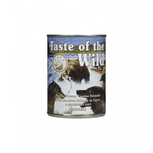 TASTE OF THE WILD DOG PACIFIC STREAM SALMÃO IN GRAVY